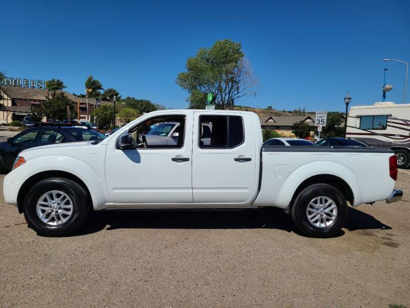 2015 Nissan Frontier for sale at Coast Auto Sales in Buellton CA