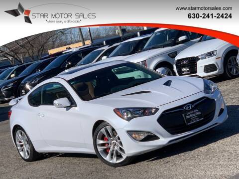 2015 Hyundai Genesis Coupe for sale at Star Motor Sales in Downers Grove IL