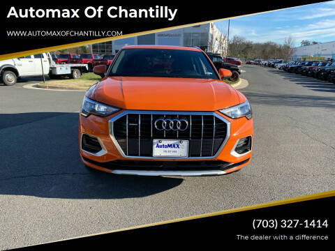 2020 Audi Q3 for sale at Automax of Chantilly in Chantilly VA