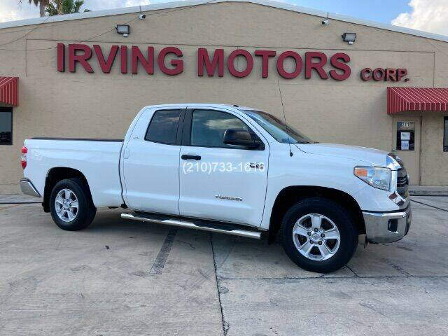 2014 Toyota Tundra for sale at Irving Motors Corp in San Antonio TX