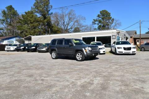 2012 Jeep Patriot for sale at Barrett Auto Sales in North Augusta SC