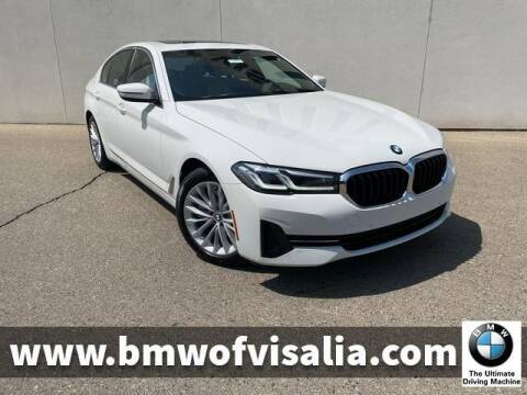 2021 BMW 5 Series for sale at BMW OF VISALIA in Visalia CA