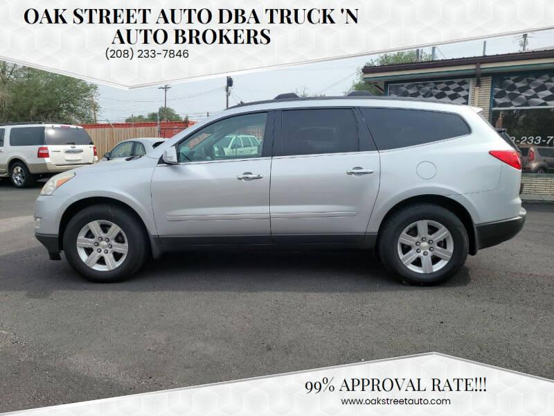 2011 Chevrolet Traverse for sale at Oak Street Auto DBA Truck 'N Auto Brokers in Pocatello ID