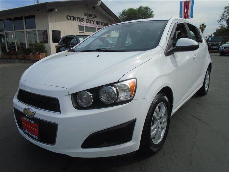 2015 Chevrolet Sonic for sale at Centre City Motors in Escondido CA