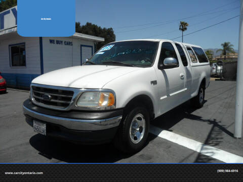 2000 Ford F-150 for sale at Car City Ontario in Ontario CA