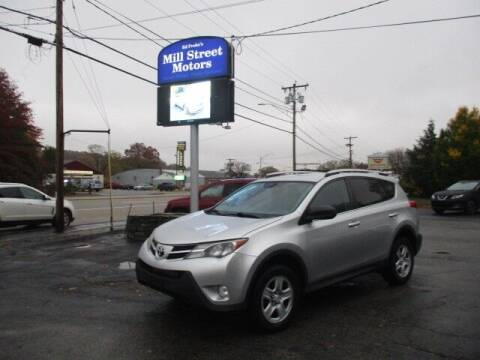 2014 Toyota RAV4 for sale at Mill Street Motors in Worcester MA