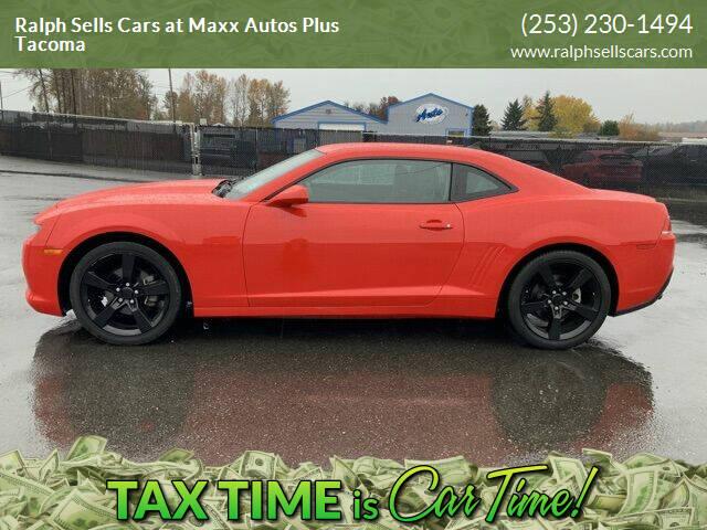 2014 Chevrolet Camaro for sale at Ralph Sells Cars at Maxx Autos Plus Tacoma in Tacoma WA