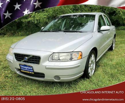 2005 Volvo S60 for sale at Chicagoland Internet Auto - 410 N Vine St New Lenox IL, 60451 in New Lenox IL