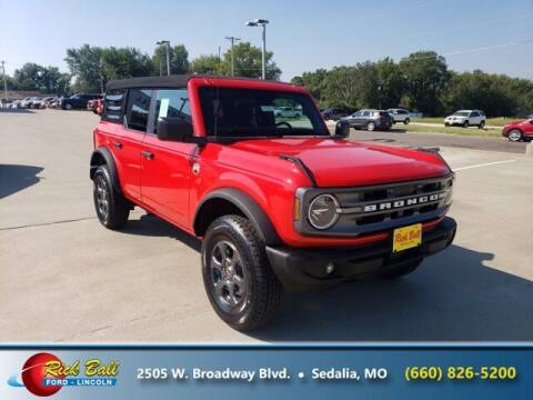 2021 Ford Bronco for sale at RICK BALL FORD in Sedalia MO