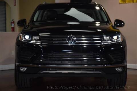 2016 Volkswagen Touareg for sale at Tampa Bay AutoNetwork in Tampa FL