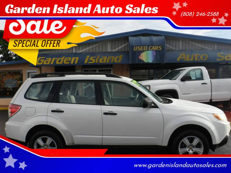 2011 Subaru Forester for sale at Garden Island Auto Sales in Lihue HI