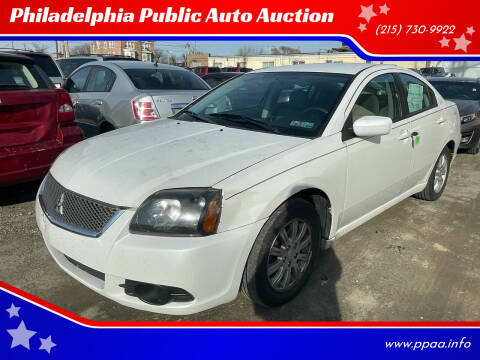 2011 Mitsubishi Galant for sale at Philadelphia Public Auto Auction in Philadelphia PA