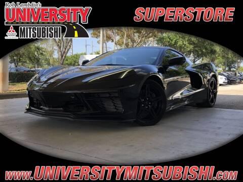2020 Chevrolet Corvette for sale at University Mitsubishi in Davie FL