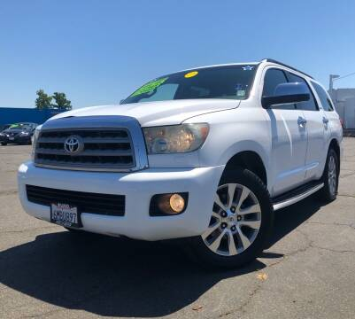 2010 Toyota Sequoia for sale at LUGO AUTO GROUP in Sacramento CA