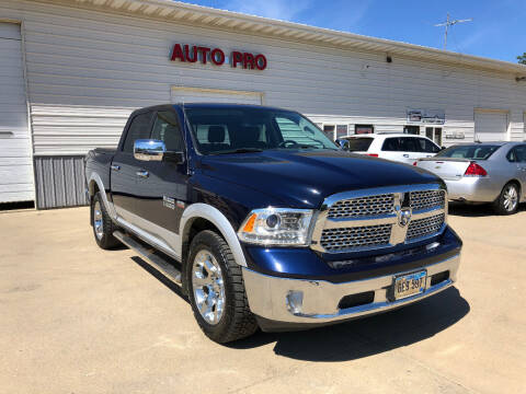 2016 RAM Ram Pickup 1500 for sale at AUTO PRO in Brookings SD