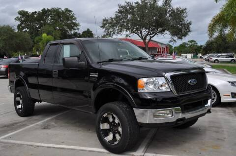 2004 Ford F-150 for sale at STEPANEK'S AUTO SALES & SERVICE INC. in Vero Beach FL