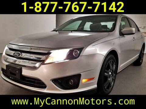 2011 Ford Fusion for sale at Cannon Motors in Silverdale PA
