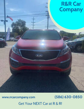 2015 Kia Sportage for sale at R&R Car Company in Mount Clemens MI