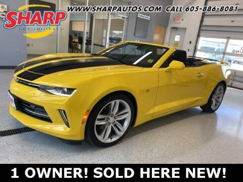 2018 Chevrolet Camaro for sale at Sharp Automotive in Watertown SD