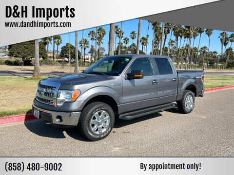 2013 Ford F-150 for sale at D&H Imports in San Diego CA