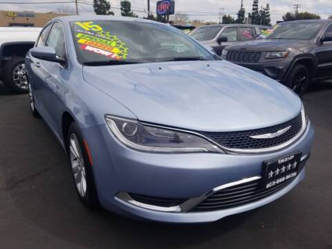 2015 Chrysler 200 for sale at 5 Star Auto Sales in Modesto CA
