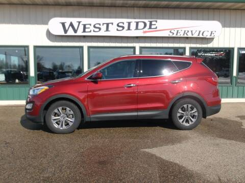2016 Hyundai Santa Fe Sport for sale at West Side Service in Auburndale WI