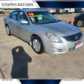 2012 Nissan Altima for sale at Schaefers Auto Sales in Victoria TX