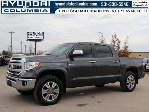2015 Toyota Tundra for sale at Hyundai of Columbia Con Alvaro in Columbia TN