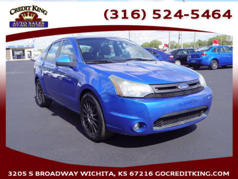 2010 Ford Focus for sale at Credit King Auto Sales in Wichita KS