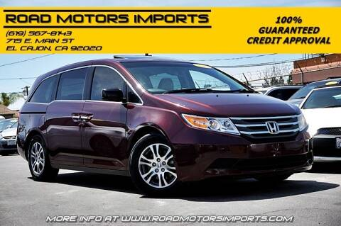 2011 Honda Odyssey for sale at Road Motors Imports in El Cajon CA