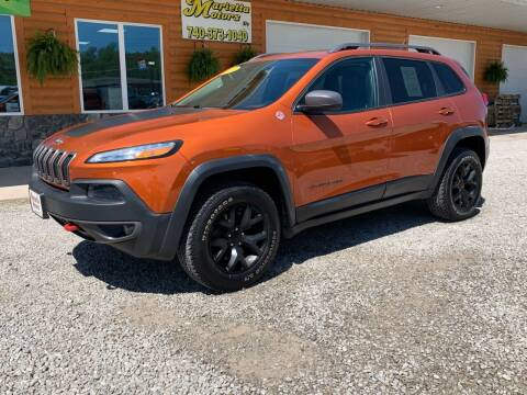 2014 Jeep Cherokee for sale at MARIETTA MOTORS LLC in Marietta OH