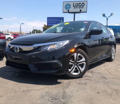 2017 Honda Civic for sale at LUGO AUTO GROUP in Sacramento CA