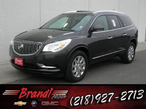 2017 Buick Enclave for sale at Brandl GM in Aitkin MN
