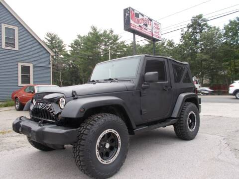 2007 Jeep Wrangler for sale at Manchester Motorsports in Goffstown NH