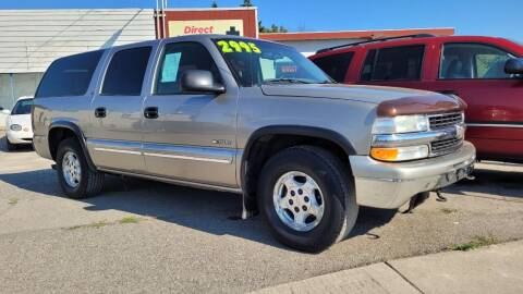 2000 Chevrolet Suburban for sale at Direct Auto Sales+ in Spokane Valley WA