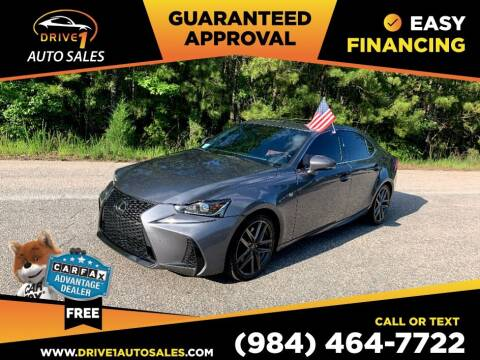 2017 Lexus IS 200t for sale at Drive 1 Auto Sales in Wake Forest NC