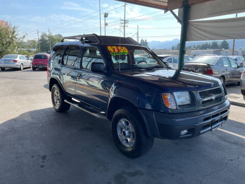 2000 Nissan Xterra for sale at Low Auto Sales in Sedro Woolley WA