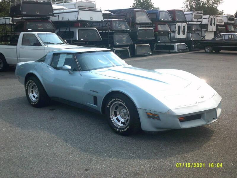 1982 Chevrolet Corvette for sale at M & M Inc. of York in York PA