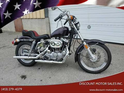 1975 Harley-Davidson xl1000 for sale at Discount Motor Sales inc. in Ludlow MA