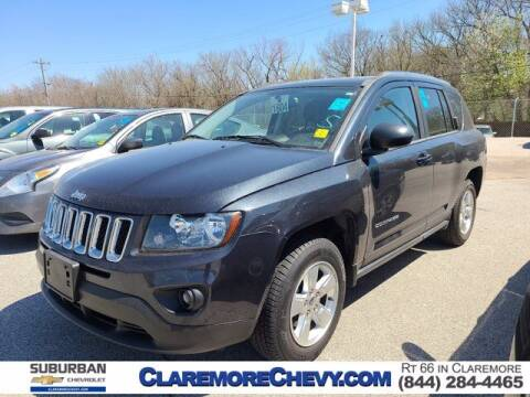 2014 Jeep Compass for sale at Suburban Chevrolet in Claremore OK