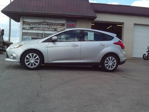 2012 Ford Focus for sale at Settle Auto Sales STATE RD. in Fort Wayne IN