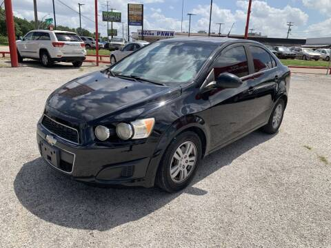 2012 Chevrolet Sonic for sale at Texas Drive LLC in Garland TX