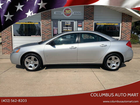 2009 Pontiac G6 for sale at Columbus Auto Mart in Columbus NE