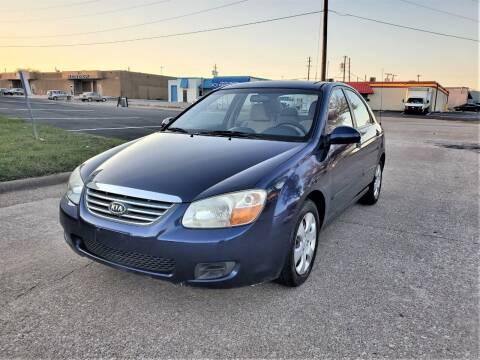 2008 Kia Spectra for sale at Image Auto Sales in Dallas TX