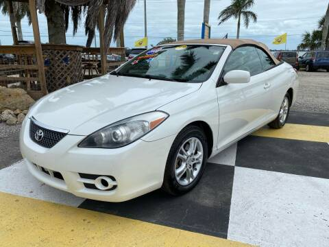 2008 Toyota Camry Solara for sale at D&S Auto Sales, Inc in Melbourne FL