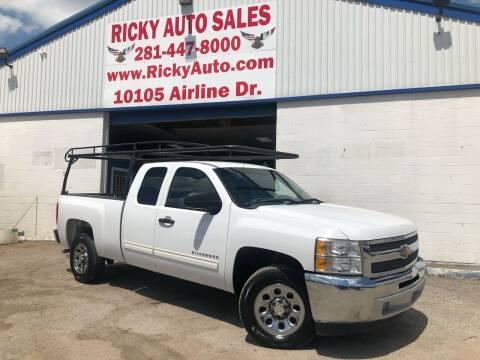 2013 Chevrolet Silverado 1500 for sale at Ricky Auto Sales in Houston TX
