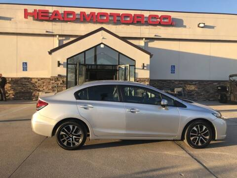 2014 Honda Civic for sale at Head Motor Company - Head Indian Motorcycle in Columbia MO