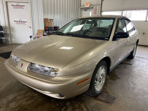 1998 Saturn S-Series for sale at Blake Hollenbeck Auto Sales in Greenville MI