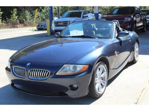 2004 BMW Z4 for sale at Inline Auto Sales in Fuquay Varina NC