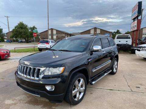 2013 Jeep Grand Cherokee for sale at Car Gallery in Oklahoma City OK